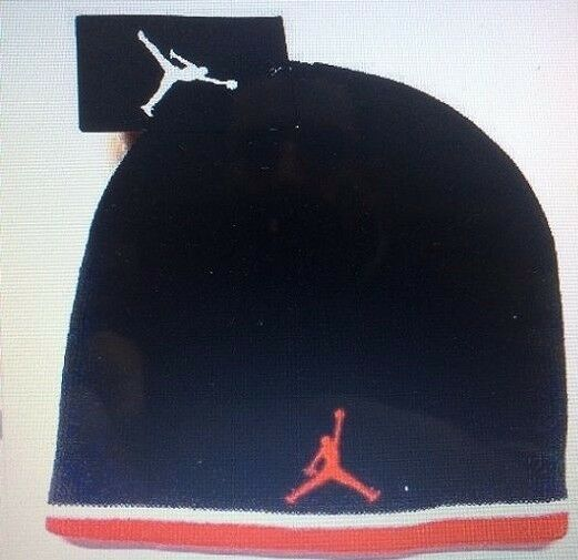... good nike air jordan beanie lid boys kids youth cap hat red black size  8 20 38d812bc7e18
