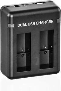 Dual-USB-Battery-Charger-for-GoPro-HERO8-HERO7-HERO6-HERO5-Batteries-Black