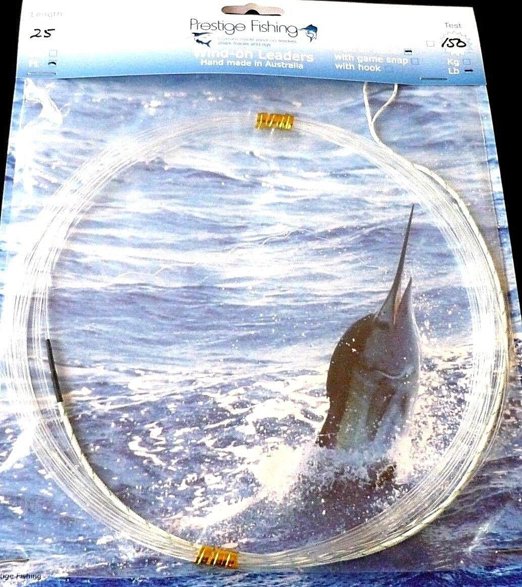 Windon leaders 10 150lb x 150lb 10  wind-on leader tuna kingfish fishing line da2c69