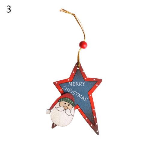 rote perle elch xmas anhänger dekoration holz baum urlaub ornament party