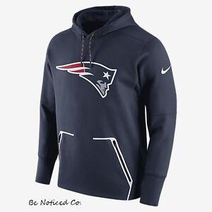 Nike Vapor Speed Fleece NFL Patriots Men's Hoodie M Blue Gym Casual Hoody New