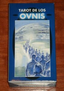 UFO-Tarot-Tarot-De-Los-Ovnis-Very-Rare-OOP-78-Card-Deck-New-Sealed-w-Bag