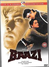 BAAZI -  AAMIR KHAN - BRAND NEW ORIGINAL BOLLYWOOD DVD - FREE UK POST