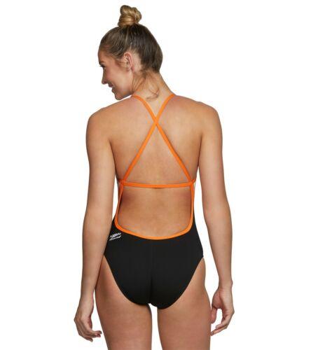 Speedo Women/'s Launch Splice Endurance Cross Back Competition Swimsuit