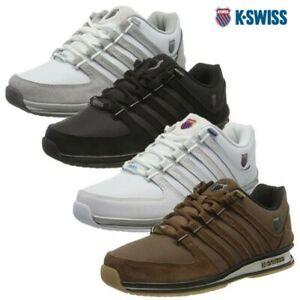 K-Swiss Herren Bequem Niedriges Top Klassisch Wildleder Rinzler Sneaker Sneakers
