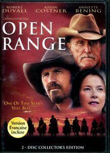 Open-Range-DVD-Robert-Duvall-Kevin-Costner-Annette-Bening-FREE-SHIPPING-CANADA