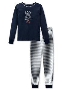 SCHIESSER Mädchen Pyjama S M L 152 164 176 50/% Baumwolle 50/% Modal Schlafanzug