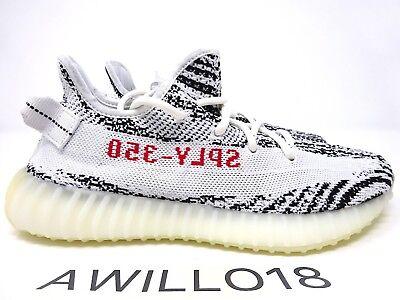best service a0708 99b85 Adidas Yeezy Boost 350 V2 Zebra White Black Red CP9654 UK 5 6 7 8 9 10 11  12 US   eBay