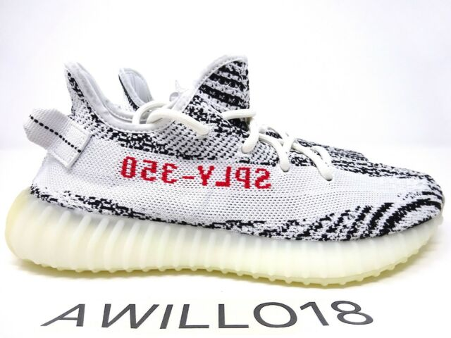 296b2b9a1d190 adidas Yeezy Boost 350 Zebra V2 Size 7.5 UK US 8 Kanye West 100 ...