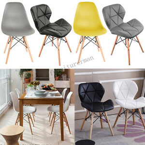 Image Is Loading Eiffel Plastic Dining Chair Retro Style Chairs Modern