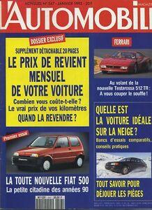 L-AUTOMOBILE-MAGAZINE-n-547-01-1992