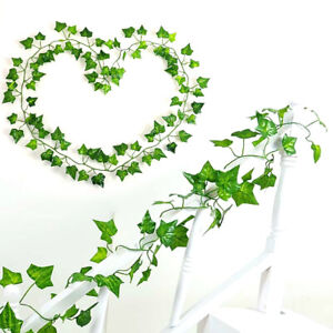 New-Home-Decor-Fake-Foliage-Flower-2-1m-Artificial-Ivy-Leaf-Garland-Plants-Vine