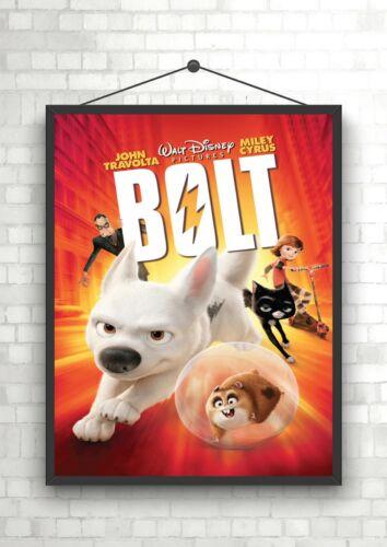 Bolt Kids Classic Movie Poster Art Print A0 A1 A2 A3 A4 Maxi