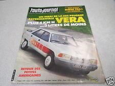 L AUTO JOURNAL 1980 N° 10 305 experimentale VERA BMW 745 i *