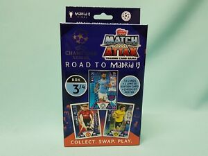 Topps-Match-Attax-Champions-League-Road-to-Madrid-19-Deck-Box-3-4-Update-Set