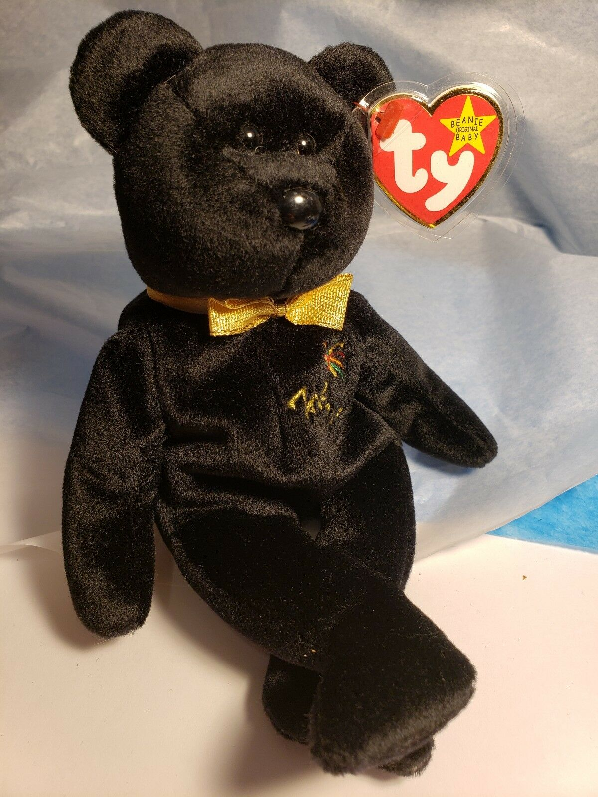 Ty Beanie Baby The End Super Rare Retired 1999 Unique Rare Gift