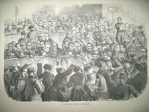 LA-BOURSE-DE-PARIS-TURQUIE-UNE-RUE-DE-CONSTANTINOPLE-MOZART-BOMBAY-GRAVURES-1858