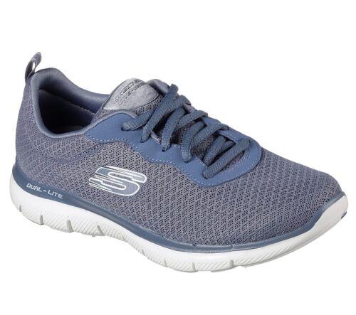newsmaker Damen Flex 0 Skechers Neu Sneakers Blau 2 Appeal SwRf05q
