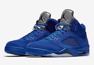 jordan retro 5 azul