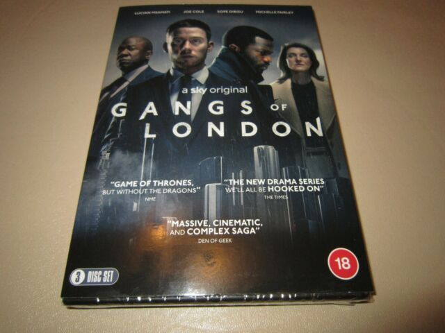 Gangs Of London on DVD **NEW & SEALED**