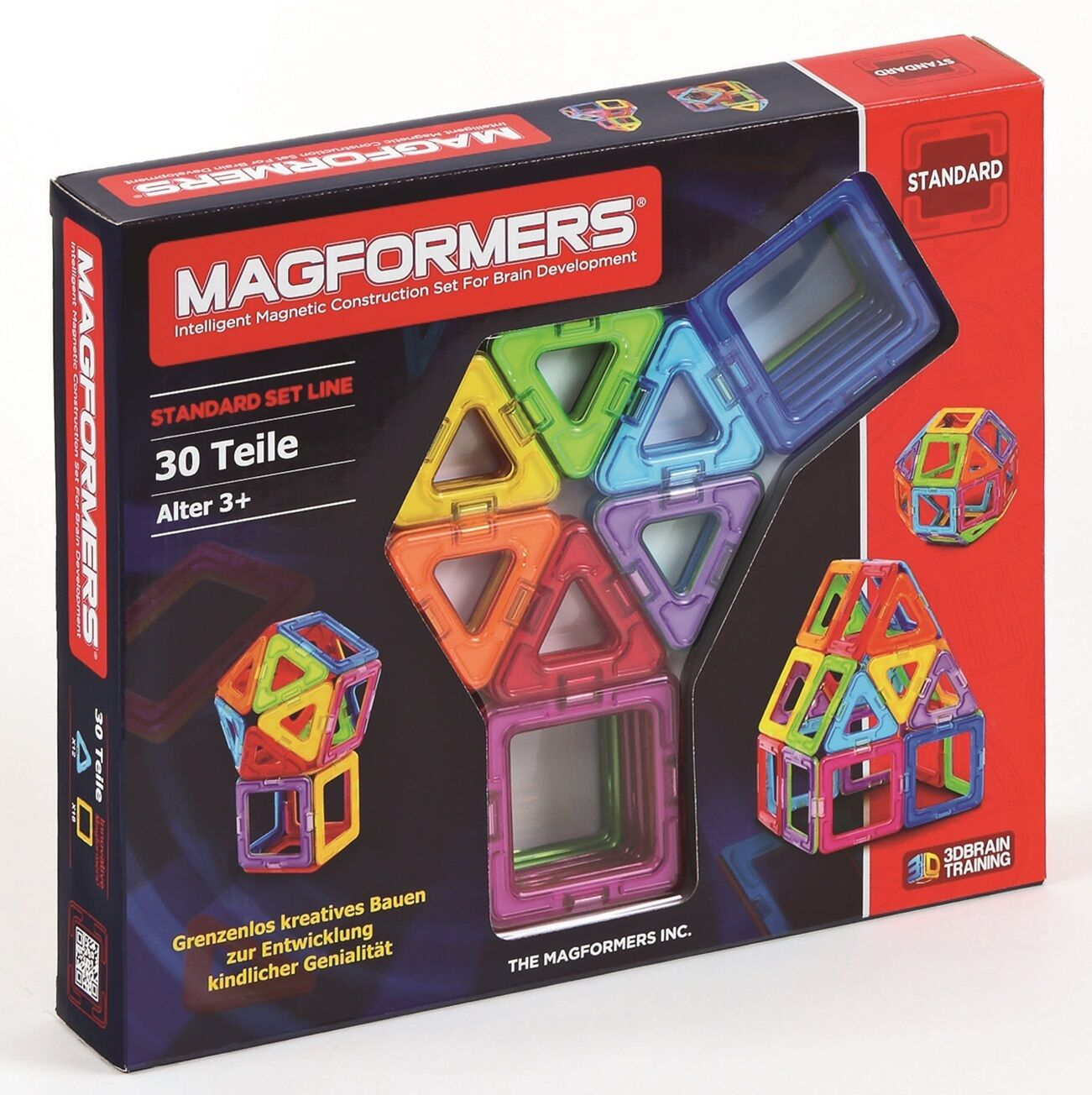 MAGFORMERS - - - 274-07 Standard Set 30 Magnet - Konstruktionsmaterial ba9992
