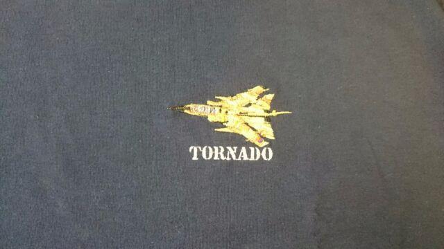 RAF ROYAL AIR FORCE PANAVIA TORNADO DESERT CAMO T-SHIRT