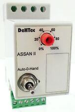 DeHTec DTAH02 Analog Sollwertgeber ASSAN2 0-10V Auto-0-Hand 24V AC/DC ASSAN II
