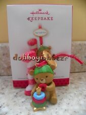 Hallmark 2013 My First Christmas Baby's 1st Child's Age Ornament