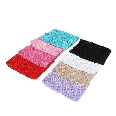 """Fabric Tulle 6/""""x6/"""" Headbands Girls Girl Skirt Crochet Tube Tube Top"""