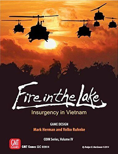 Fire in the Lake Lake Lake Board Game   GMT - (New) d7efa8