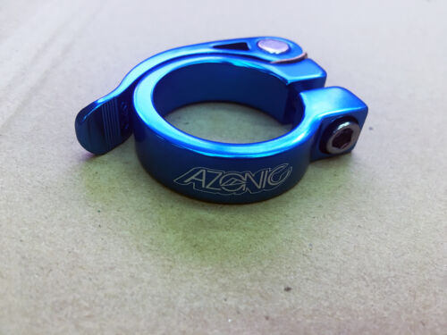 Azonic Gonzo clamp 34.9mm Blue #3034-201