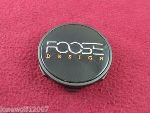 Foose Custom Wheel Center Cap Black Finish 1002-52