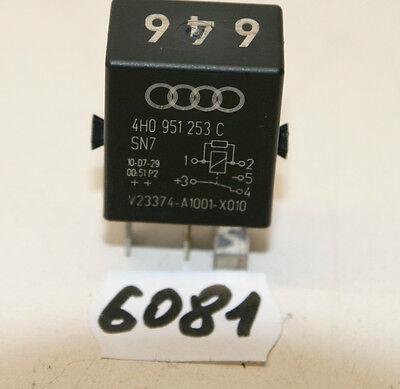 373 Relay 8D0 951 253 A 8D0951253A Original VW AUDI SKODA SEAT Relais Nr