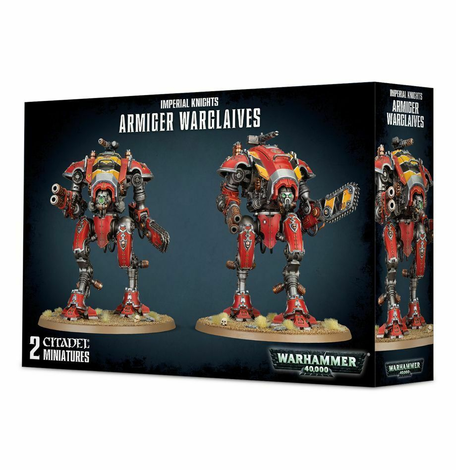 Imperial Knights  Armiger Warglaives Warhammer 40k. 20% off UK rrp