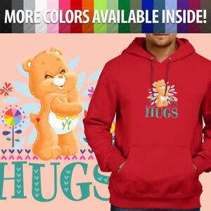 Care-Bears-Friend-Bear-Hugs-Classic-Cartoon-Pullover-Sweatshirt-Hoodie-Sweater