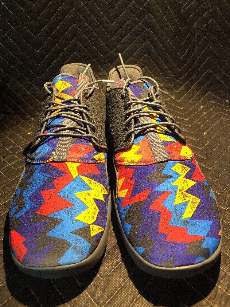 Nike Jordan Eclipse 724010-035 Black/Unvrsty Red/Dark Gray Men's Size 12