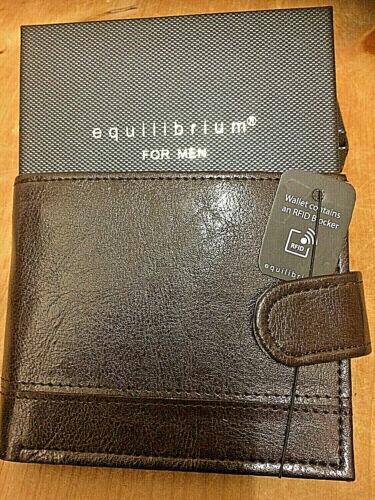 Homme RFID Portefeuilles par equilibrium