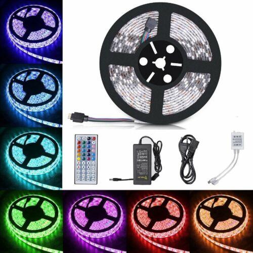 5m-20m LED Stripe RGB Leiste Streifen 5050 Band WIFI Controller Wasserdicht 12V