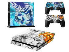 Dragon Ball Z Gosu Sun Design Ps4 Skin Sticker Cover For Playstation 4 USA STOCK