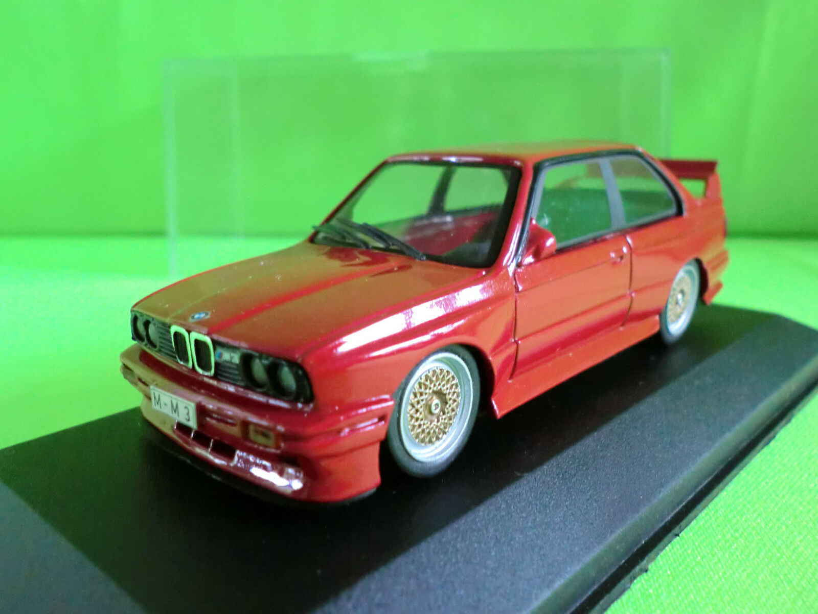 MINICHAMPS 1 1 1 43  BMW M3 E30 - BBS LE MANS EDITION  - EXTREMELY RARE 011675