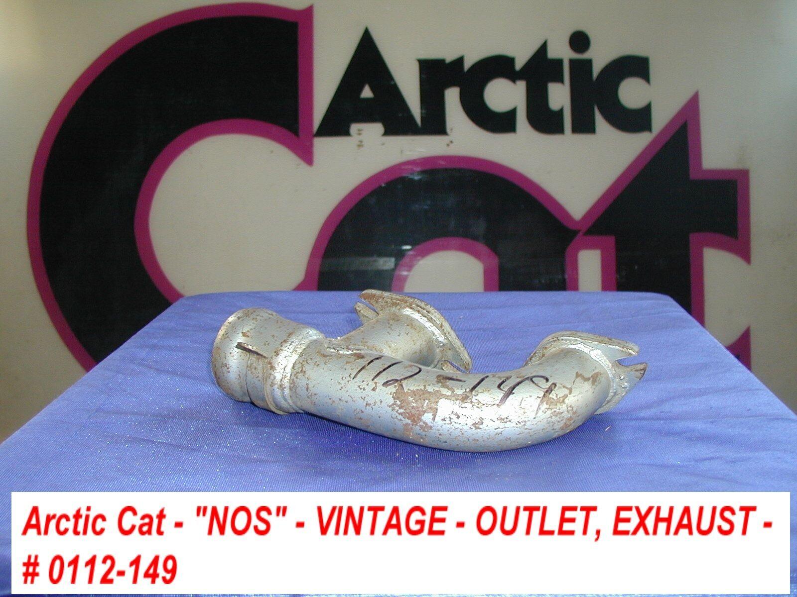 Arctic Cat Exhaust Manifold Outlet '71 EXT Vintage
