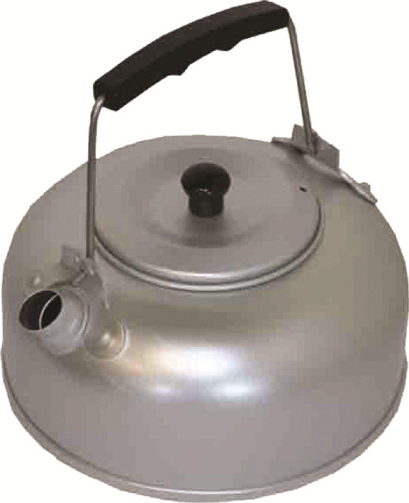 Nouveau camping bouilloire en aluminium aluminium aluminium anodisé 2 pinte Bushcraft Camping bad4bb