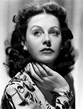 8x10 Print Hedy Lamarr Beautiful Portrait #1944 #HLAD