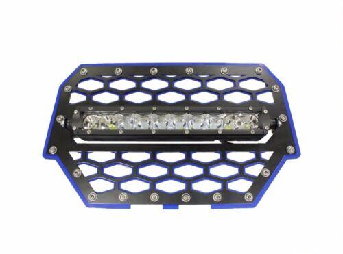 "Modquad Front Grill 10/"" Light Bar Mount Polaris RZR 1000 XP RZR-FGLS-1K-BL"