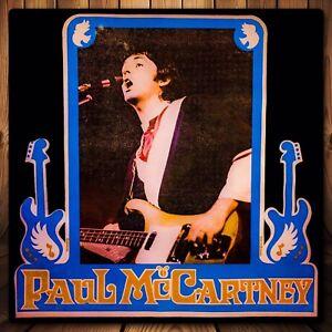 70/'s WINGS Paul McCartney Fender Guitar Beatles Jersey VTG Iron-On NEW T-Shirt