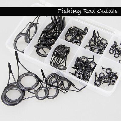 35 Fishing Rod Stainless steel Guide Tip Top Ring Eye Repair Kit  Rod Guide