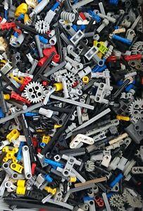 Lego-Technic-Technik-200-Kleinteile-Pins-Verbinder-Zahnraeder-Gears-Halter-Gelenk