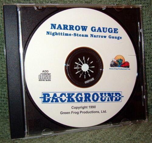 "56013 MODEL RAILROAD SOUND EFFECTS AUDIO CD /""NARROW GAUGE STEAM NIGHT/"""