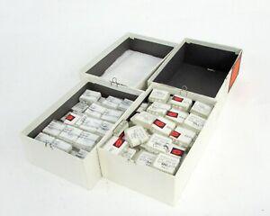 Lot-of-167-AVX-Gold-Ceramic-470-PF-Chip-RF-Capacitor