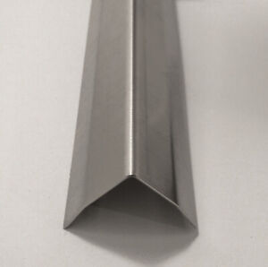 """2/"""" x 2/"""" x 36/"""" Aluminum Mill Finish Outer Corner Guard Angle Wall Protector .063"""